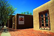 Santa Fe Magic - The Georgia OKeeffe Museum in Santa Fe by Susanne Van Hulst