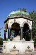 Byzantine Photos - The German Fountain in Istanbul by Artur Bogacki