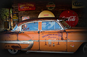 Moonshine Metal Prints - The Getaway Driver Metal Print by Benanne Stiens