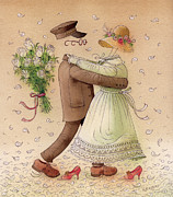 The Ghost Dance Print by Kestutis Kasparavicius