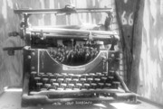 Typewriter Photos - The Ghost writer by Wayne Stadler