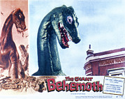 Lobbycard Framed Prints - The Giant Behemoth, 1959 Framed Print by Everett