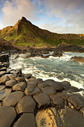 Klarecki Posters - The Giants Causeway Poster by Pawel Klarecki