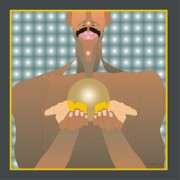 Mustaches Digital Art Posters - The Gift Poster by Walter Neal