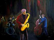 Jazz Band Art - The Gig by Clemens Greis