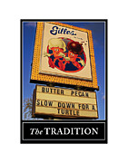 Ice Cream Cones Prints - The Gilles Tradition 1 Print by Geoff Strehlow
