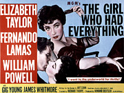 Fid Framed Prints - The Girl Who Had Everything, Elizabeth Framed Print by Everett