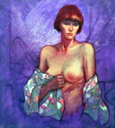 Roz McQuillan - The Girl with the Red...