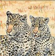 Leopard Ceramics - The Girls by Dy Witt