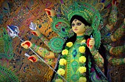 Goddess Durga Photos - The Goddess Durga by Soma Debnath