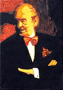 Black Tie Paintings - The Godfather Vladimir Horowitz Revisited by Sheri Parris