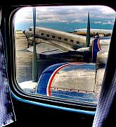 Dc-3 Plane Framed Prints - The Golden Age of Flight -- Color version Framed Print by William Wetmore