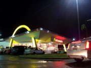 Ronald Mcdonald Art - The Golden Arches by Kevin D Davis