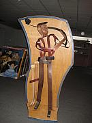 Sports Art Sculpture Originals - The Golfer by Marko Martinez