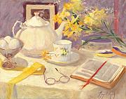Tea Originals - The Good Book and Tea by Margaret Aycock