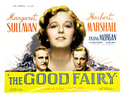 Newscanner Framed Prints - The Good Fairy, Frank Morgan, Margaret Framed Print by Everett