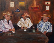 Patriotic Paintings - The Good Oil Days by Caron Sue Staney