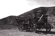 Conestoga Wagon Photos - The Good Old Days by Susanne Van Hulst