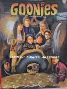 Chandler  Drawings - The Goonies by Sandeep Kumar Sahota