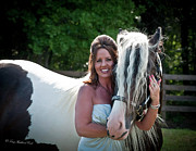 Horse Portrait Photos - The Gorgeous Pair by Terry Kirkland Cook