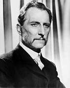 Mustache Posters - The Gorgon, Peter Cushing, Portrait Poster by Everett