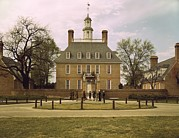 American Colonial Architecture Posters - The Governors Palace Williamsburg Poster by Everett