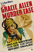 Gracie Framed Prints - The Gracie Allen Murder Case, Gracie Framed Print by Everett