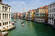Rialto Prints - The Grand Canal Print by Michelle Sheppard