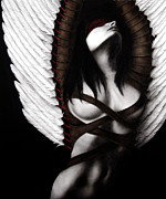 Winged Figure Posters - The Grand Delusion Poster by Pat Erickson