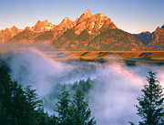 Dennis Flaherty and Photo Researchers - The Grand Tetons