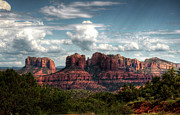 Arizona Sedona Prints - The Grandeur of Sedona  Print by Saija  Lehtonen