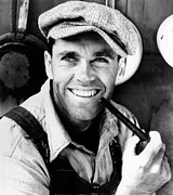 Unshaven Prints - The Grapes Of Wrath, Henry Fonda, 1940 Print by Everett