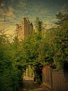 Picturesque Mixed Media - The gray tower by Bildaspekt De