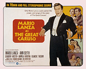 Blyth Prints - The Great Caruso, Mario Lanza, Ann Print by Everett