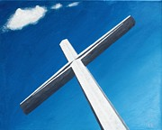 Cross Paintings - The Great Cross - Resurrection by Kelvin Kelley