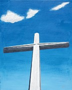 Nombre Prints - The Great Cross - Risen Print by Kelvin Kelley
