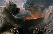 Gods Paintings - The Great Day of His Wrath by Charles Mottram