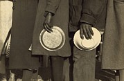 Poor People Metal Prints - The Great Depression. African Americans Metal Print by Everett