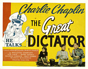 Dictator Prints - The Great Dictator, Paulette Goddard Print by Everett