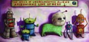 Humor. Paintings - The Great Escape From Arizona by Leah Saulnier The Painting Maniac