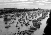 Gathering Photos - The Great Flotilla by David Lee Thompson