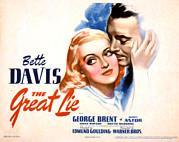 Caress Framed Prints - The Great Lie, Bette Davis, George Framed Print by Everett
