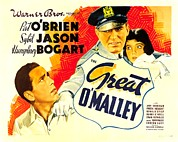 Arm Around Shoulder Posters - The Great Omalley, Humphrey Bogart, Pat Poster by Everett