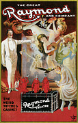 Tricks Posters - The Great Raynond and Company Poster by Unknown