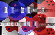 Abstract Music Digital Art - The Great Rock and Roll Swindle by Bill Cannon