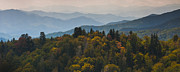 Smokey Mountains Posters - The Great Smokey Mountains Poster by Ryan Heffron