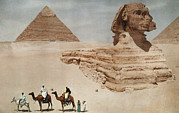 Famous Book Photos - The Great Sphinx And The Second, Or by Hans Hildenbrand
