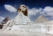 North African Posters - The Great Sphinx Poster by Granger