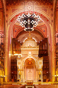 Synagogue Digital Art Originals - The Great Synagogue-Budapest by John Galbo