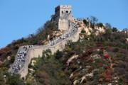 Great Wall Photos - The Great Wall Mountaintop by Carol Groenen
